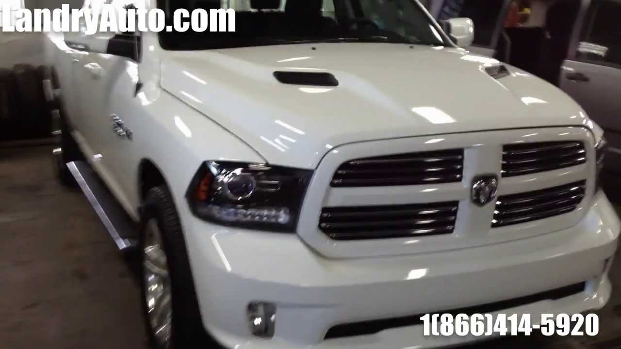 white 2014 ram 1500 sport quad cab blanc youtube - Dodge Ram 1500 2014 Sport