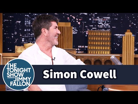 Simon Cowell Practiced Parenthood with Puppies