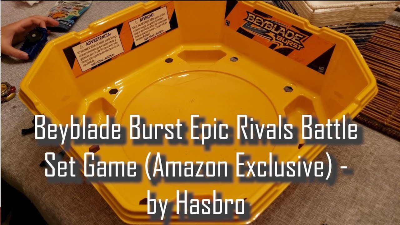 Review n' Play - Beyblade Burst Epic Rivals Battle Set Game (Amazon Exclusive)