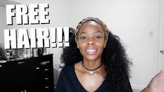 FREE BUNDLES!!! Back To School Giveaway! AMBERJAY HAIR