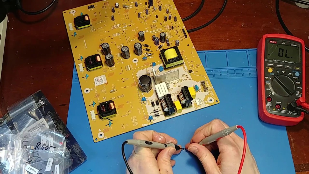 32` Emerson LCD TV Repair Kit Install