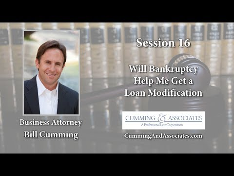 Post Bankruptcy Loan Modficiations | Cumming & Associates