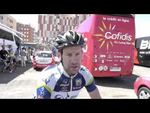 Julian Dean of orica GreenEDGE at the Vuelta 2012