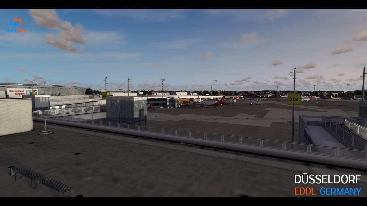 simMarket: JUSTSIM - DÜSSELDORF AIRPORT EDDL FSX P3D