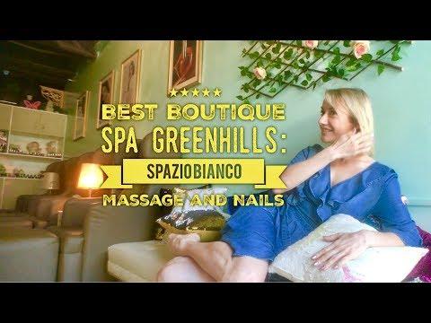 Best Boutique Spa Greenhills: Spazio Bianco Massage and Nail Spa Wilson Street