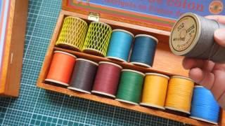 Sajou | Fil Au Chinois | Cablé Linen Wooden Storage Box