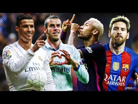 Lionel Messi & Neymar vs Ronaldo & Bale 2016 ● Skills & Goals Battle   HD