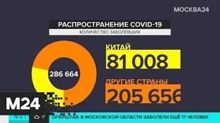 В России зафиксировано 53 новых случая коронавируса за сутки - Москва 24