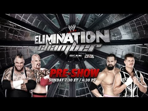 WWE Elimination Chamber Pre-show 2013
