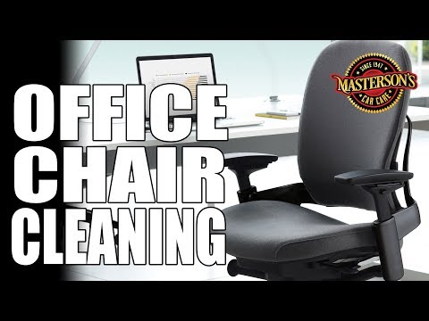 How To Clean Your Office Chair! - Enjoy A Clean Work Space! - Masterson's Car Care