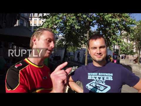 Belgium: Brussels parties after 3rd place Belgium enjoy best ever finish