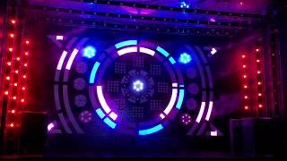 Как сделать световое шоу из светодиодов под музыку, концепт сцены на одном контроллере.