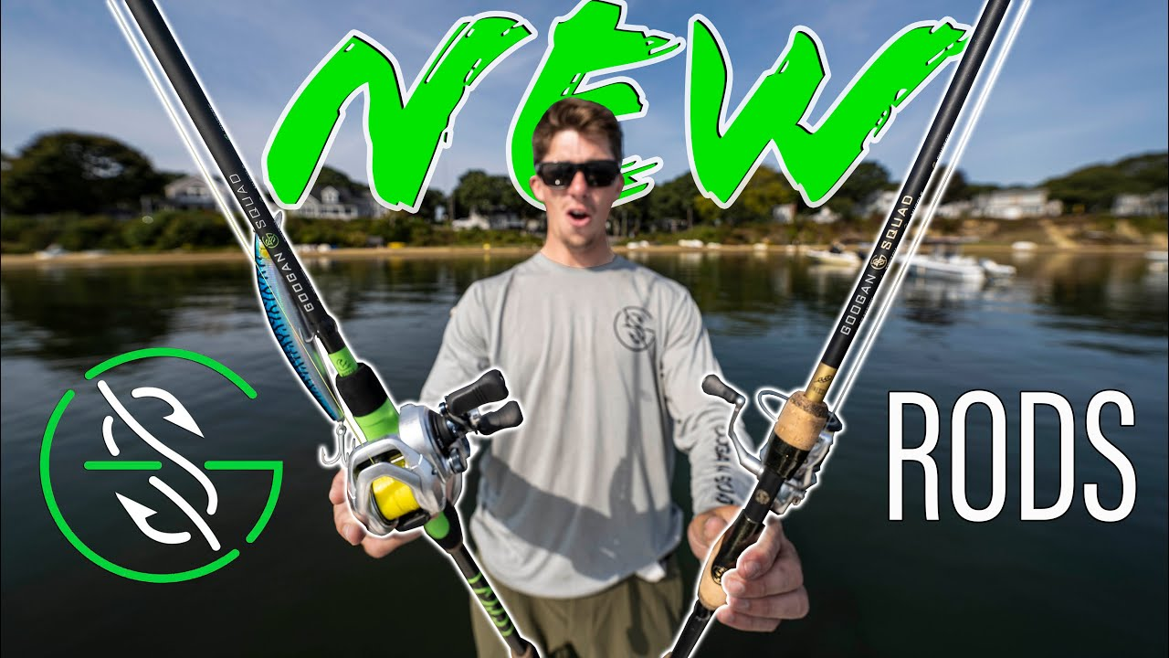 Testing the NEW GOOGAN RODS!! (Saltwater Fall Fishing)