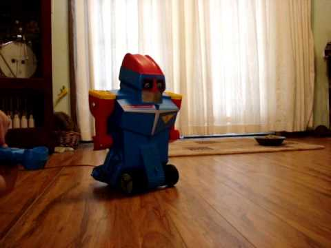 Robot Commando all functions working including the squeaker.