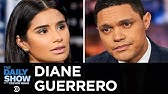 """Diane Guerrero - """"Orange Is the New Black"""" and Fighting for Immigrant RightsThe Daily Show"""