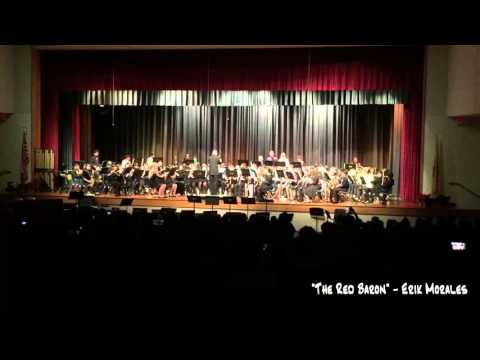 "Crossroads South Middle School Wind Ensemble - ""The Red Baron"" (Erik Morales)"