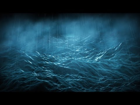 Rain & Stormy Ocean Sounds Aboard Wooden Ship | Sleep, Study, Soothe Baby |  White Noise 10 Hours