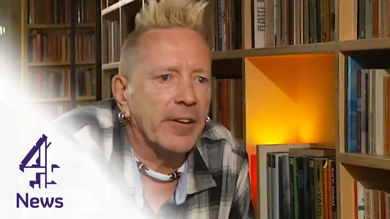 Image result for johnny rotten  you tube