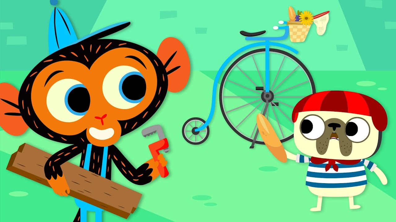 Monsieur Bulldog Has A BIG Bicycle Problem