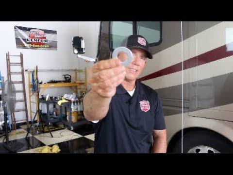 RV Air Conditioner Water Runoff Hack