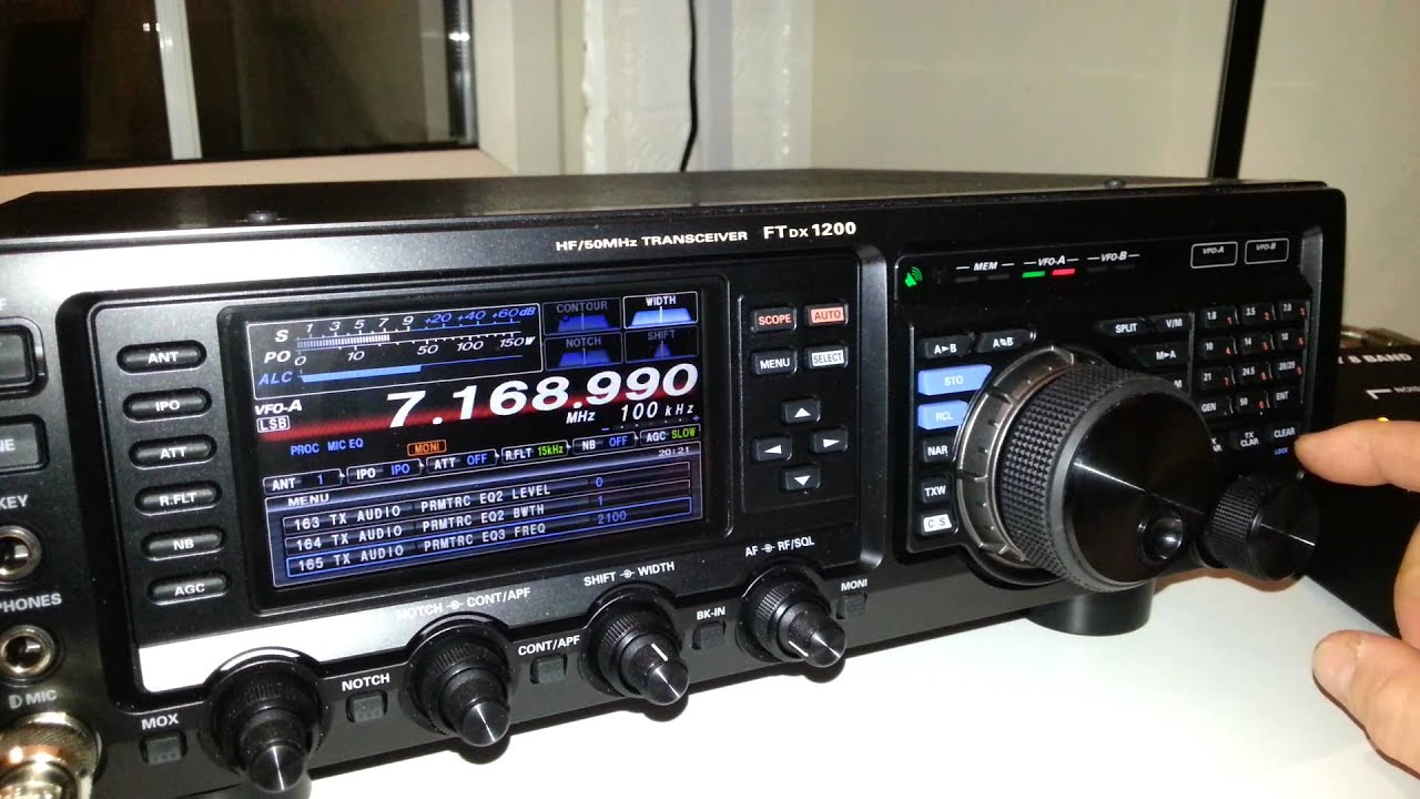 yaesu ftdx1200 eq settings w2ihy youtube rh youtube com yaesu ftdx 3000 service manual FT-3000 DX