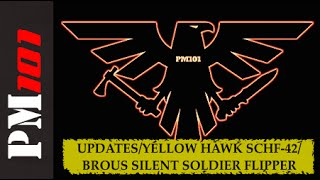 Updates / Yellow Hawk SCHF-42 Sheath /Brous Silent Soldier Flipper  - Preparedmind101