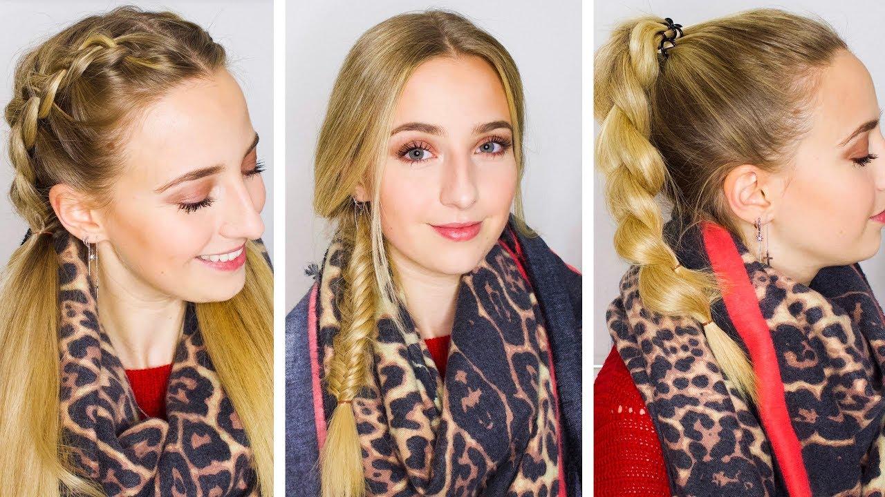 Herbst Frisuren   Lange Haare neu gestylt