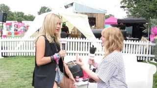 Laura Whitmore gives us some nice squats at V Festival