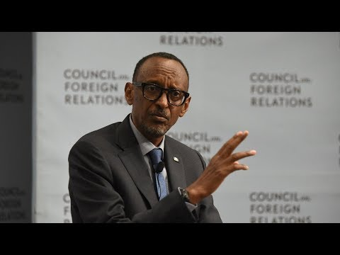 A Conversation with Paul Kagame