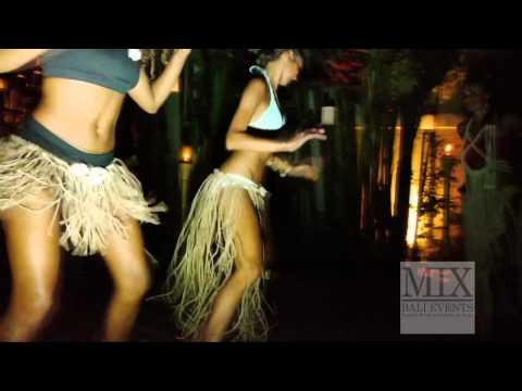 Африканские танцы, барабаны и факелы - в MIX Bali Events