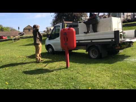 Knaresborough Lido Restocking Trout