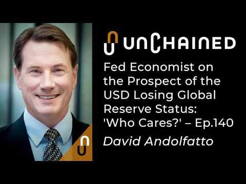 Fed Economist On The Prospect Of The USD Losing Global Reserve Status: 'Who Cares?' - Ep.140
