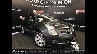 Gray 2011 Cadillac SRX 2.8T Performance Review Edmonton Alberta - Lexus of Edmonton