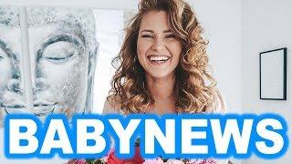Endlich ist es soweit: Babynews bei Maren Wolf und Tobias Wolf
