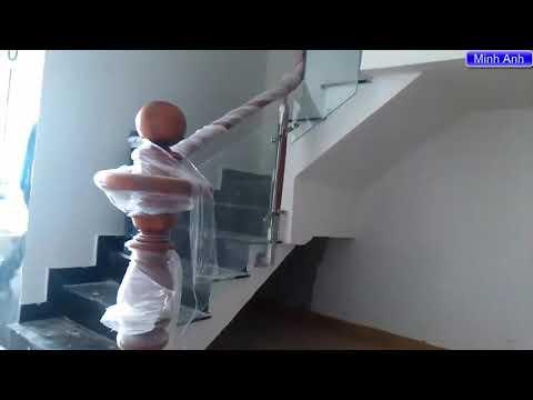 Cầu thang kính - Hướng Dẫn Làm Cầu Thang Kính Cường Lực Đơn Giản Dễ Dàng Nhất