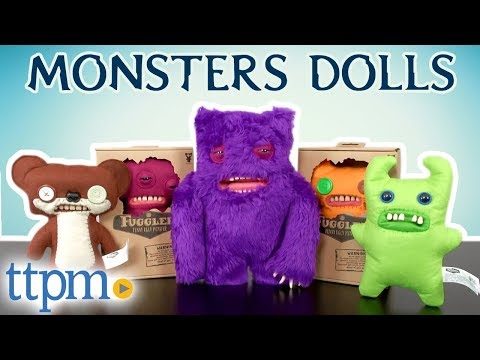 Fugglers Funny Ugly Monsters - Stuffed Dolls [REVIEW] | Spin Master Toys
