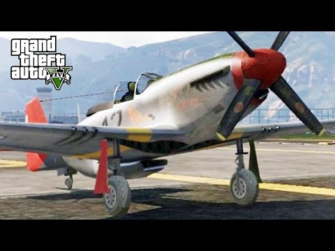 GTA 5 MP #101 - P-51 Vs BF-109