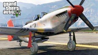 GTA 5 MP #101 - P-51 Vs BF-109
