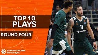 Top 10 Plays  - Turkish Airlines EuroLeague Regular Season Round 4