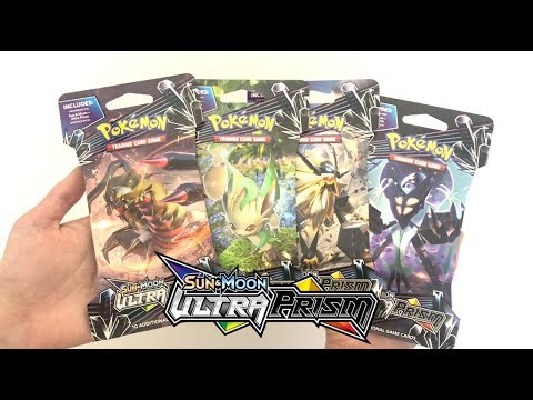 THE SEARCH FOR GOLD CONTINUES!!!! POKEMON ULTRA PRISM SLEEVED BOOSTERS!