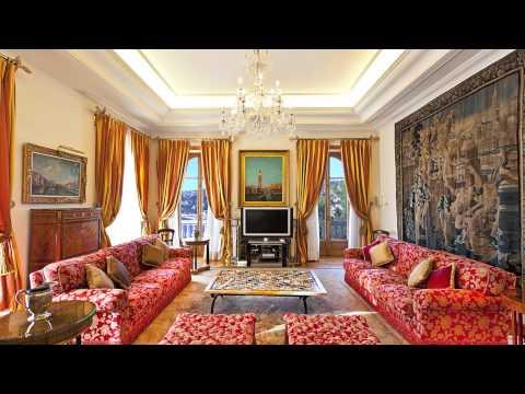 Villa de prestige à louer - Saint Jean Cap Ferrat - vue mer panoramique - 15 chambres - 2 piscines