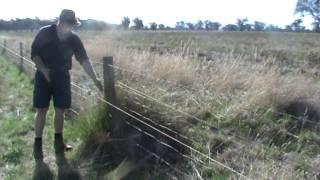 Fencing  - How To Make Conventional Fence Last Years With Electric Fence Offset
