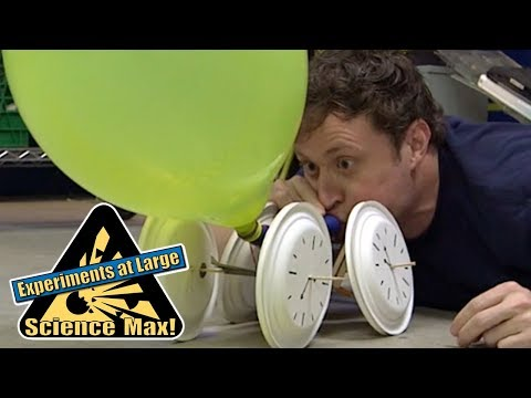 Science Max | BALLOON POWER | Kids Science | Experiments
