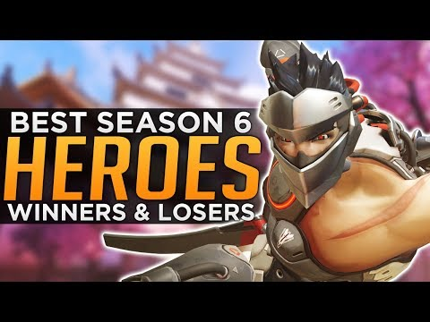 Overwatch: BEST & WORST Heroes For Season 6!