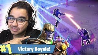 Fortnite Thanos - اقوى قيم بفورتنايت ضد ثانوس في الطور الجديد