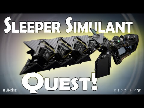 How to Get the Sleeper Simulant (Exotic Quest Part 1) | Destiny The Taken King PS4 |