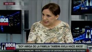 Julia Príncipe defiende su independencia y desaira a ex procuradora adjunta Yeni Vilcatoma