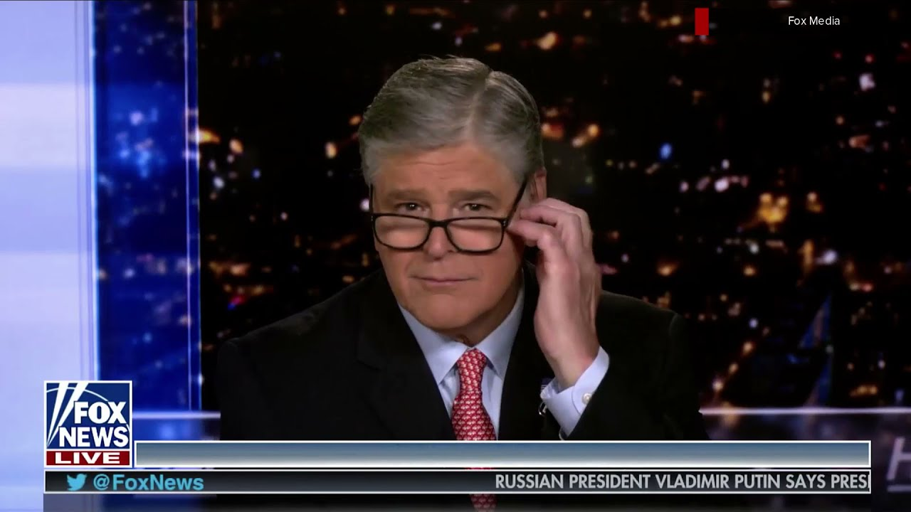 Fox commentator Sean Hannity caught vaping on air