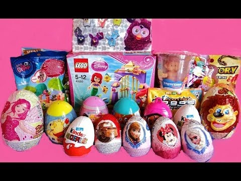 20 Surprise Eggs Toys Unboxing Youtube