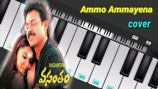 Ammo ammayena - Ringtone instrumental cover- ( vasantham ) | #bbentertainmentpiano